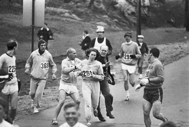 Katharine Switzer became the first woman to run in the Boston Marathon in 1967.