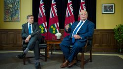 Toronto Mayor John Tory Feuds With Doug Ford Over Provincial