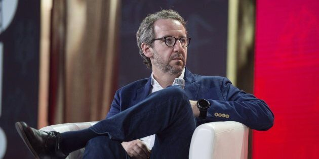 Gerald Butts looks on during the federal Liberal national convention in Halifax on April 20,