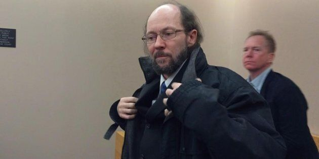 Kenneth Harrisson is shown at provincial court in St. John's, N.L., on Tuesday, March 21,