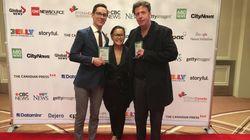 HuffPost Canada Wins 2 RTDNA