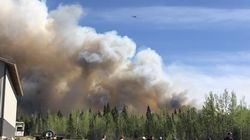 B.C. Wildfires That Blazed Through The Weekend Have Calmed