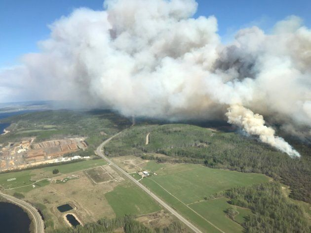 The Lejac wildfire prompted a local state of emergency and several