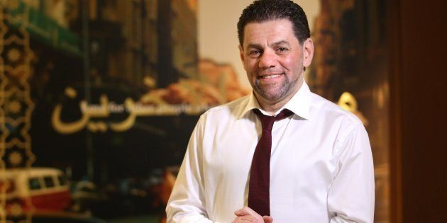 Mohamad Fakih, the CEO and president of Paramount Fine Foods, is seen here in his Toronto office on May...