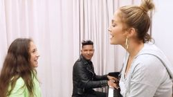 Jennifer Lopez's 11-Year-Old Daughter Singing Will Have You On The