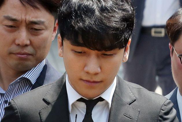 '승리 구속영장 기각' 김상교씨가 심경을