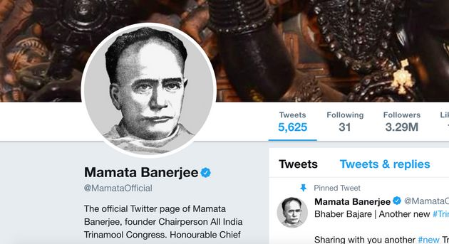 Mamata, TMC Leaders Change Twitter And FB Pictures To Vidyasagar After Statue