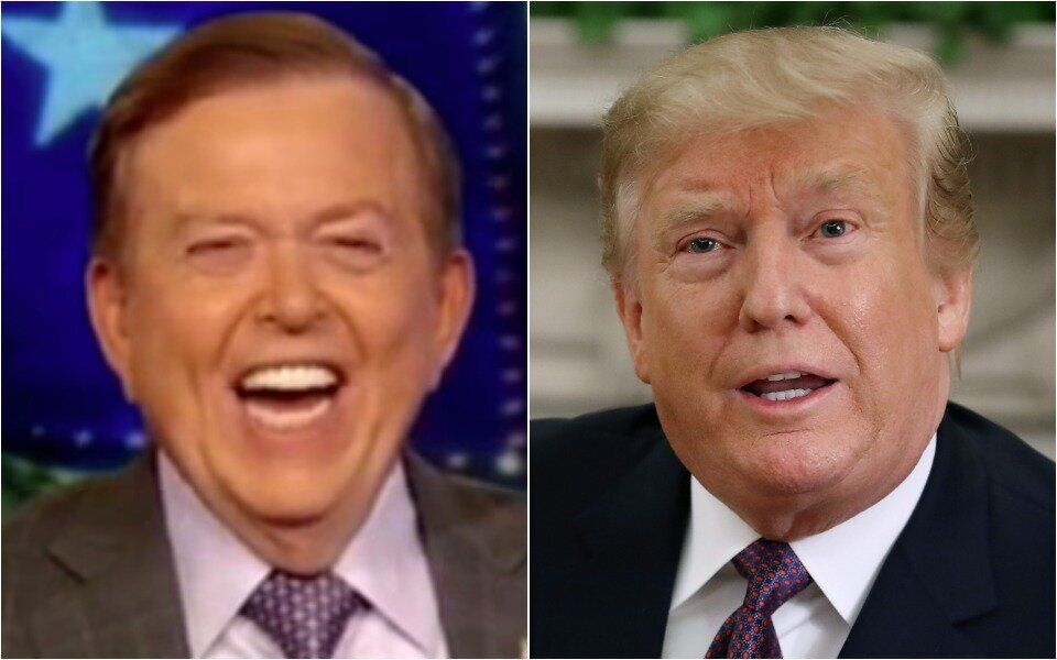 Lou Dobbs and Donald Trump