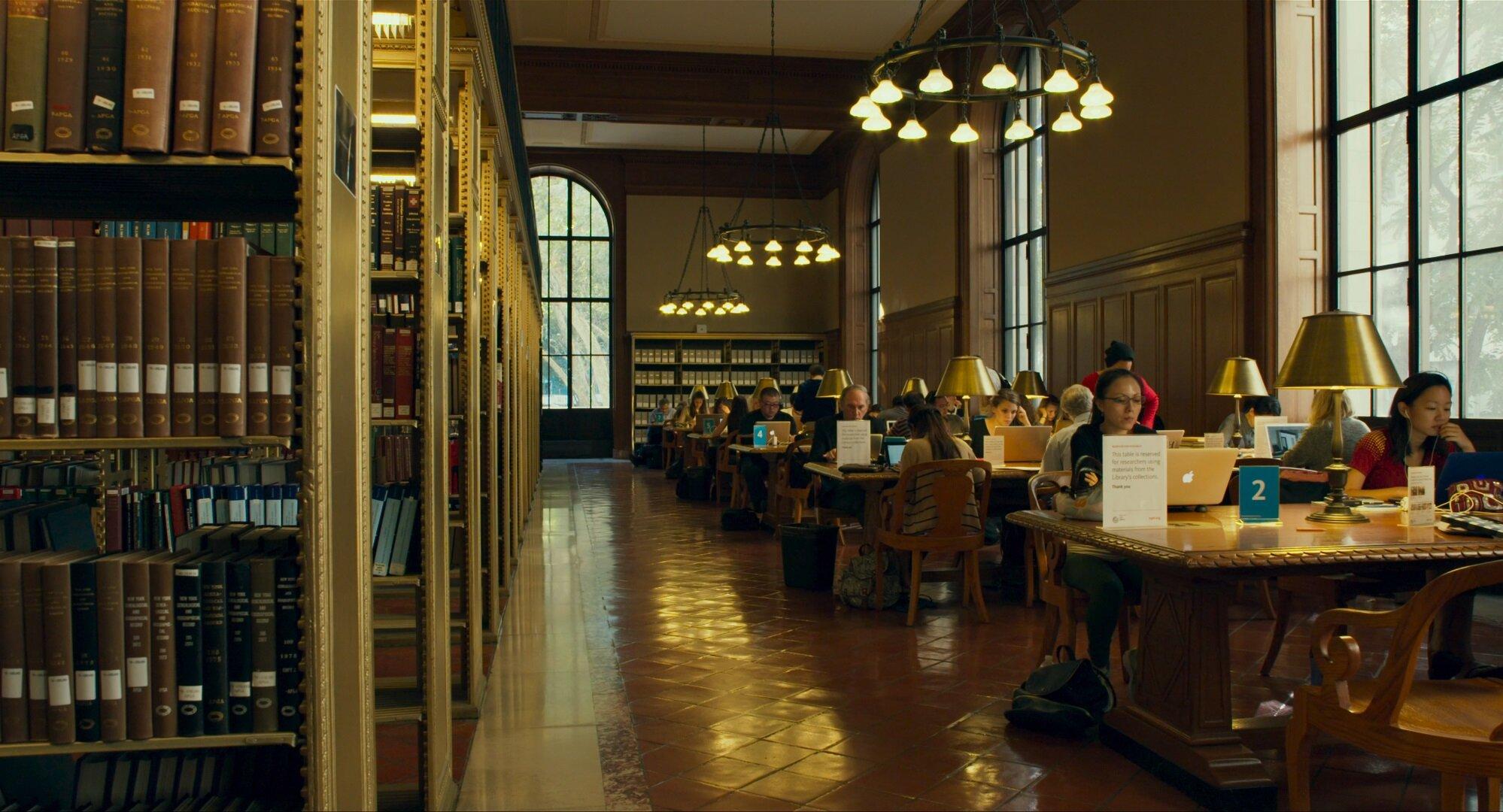 映画『ニューヨーク公共図書館 エクス・リブリス』より
