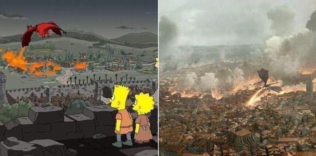 I Simpson hanno previsto gli avvenimenti di Games of