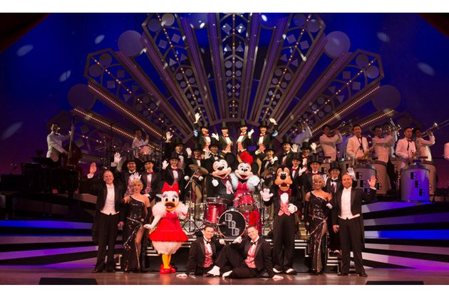 東京ディズニーシーで現在公演中の「ビッグバンドビート」