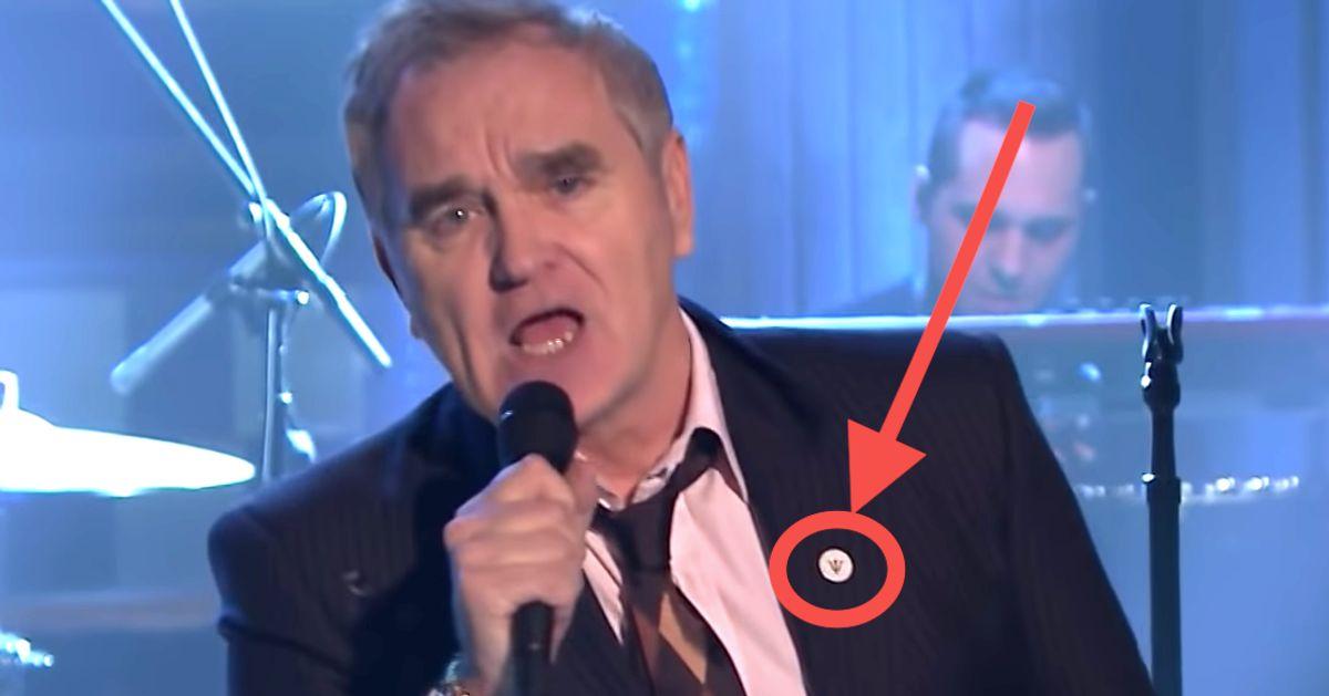 Jimmy Fallon Faces Backlash Over Morrissey's Far-Right Pin