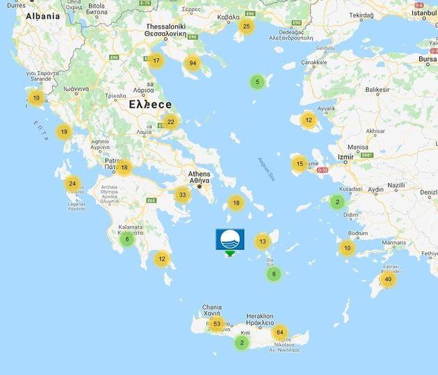 Με 512 Γαλάζιες Σημαίες οι ελληνικές ακτές - Πού θα βρείτε τις