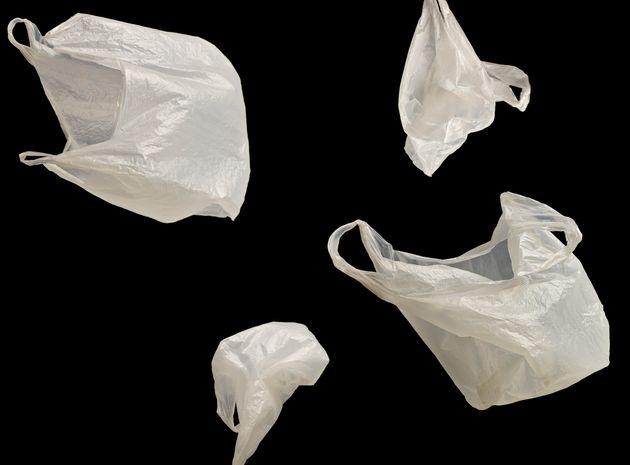 プラスチック製レジ袋 イメージ写真