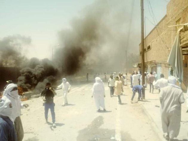 Emeutes à Tinerkouk: Répression et colère