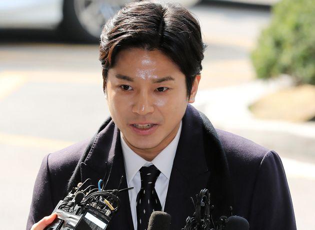 '버닝썬 최초 신고자' 김상교씨가 성추행 혐의로 검찰에