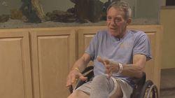 Έκοψε το πόδι του με έναν σουγιά για να σωθεί - «Είμαι πολύ