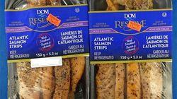 Ces lanières de saumon pourraient être contaminées à la bactérie