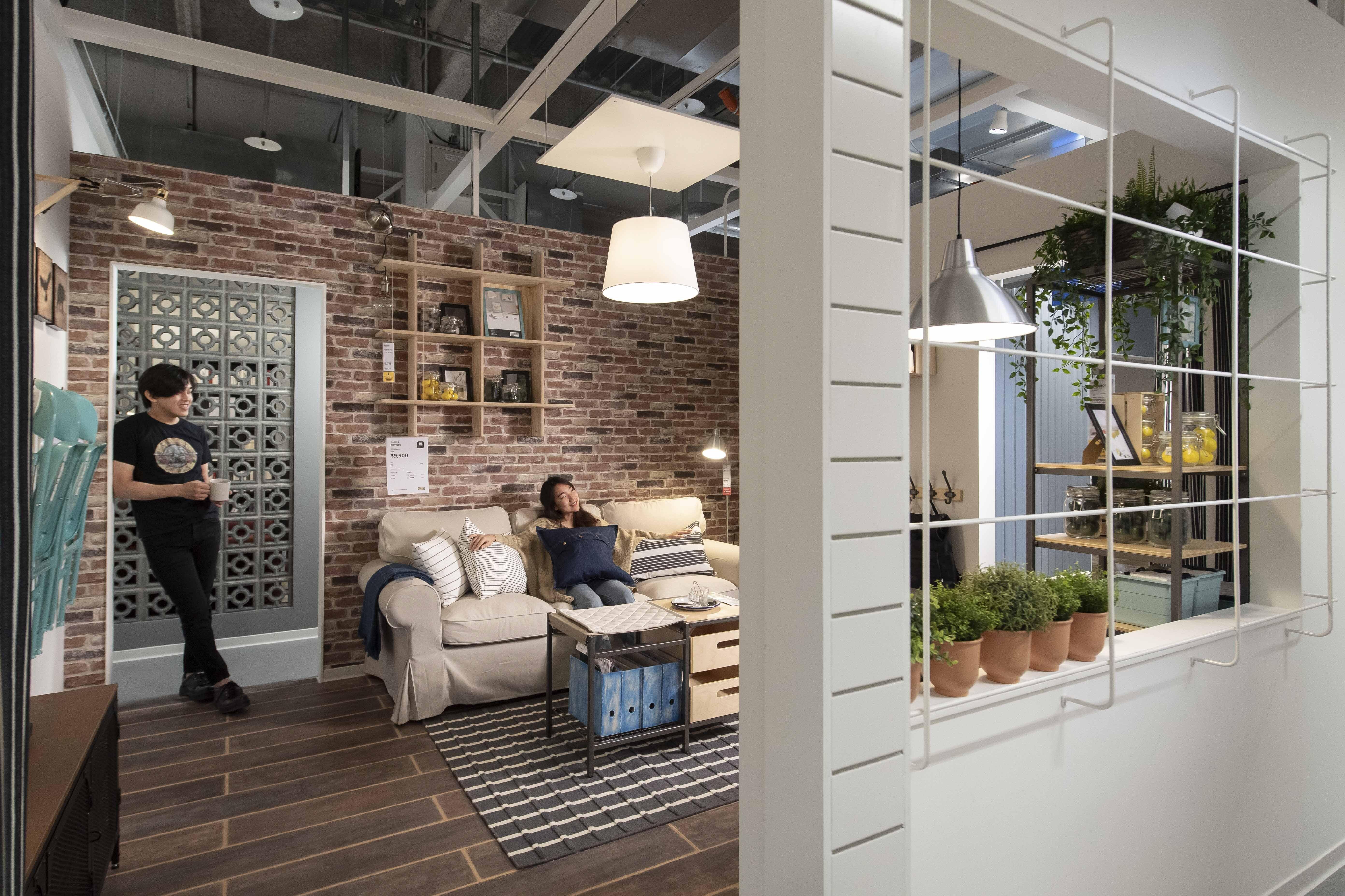 ▲新店店是IKEA唯一捷運共構店,佔地6600坪。廠商提供