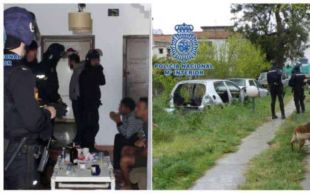 La police espagnole démantèle un réseau de passeurs opérant au