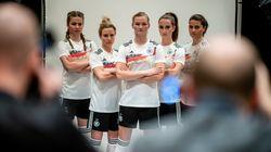 Dans un clip plein d'humour, l'équipe féminine allemande tacle les