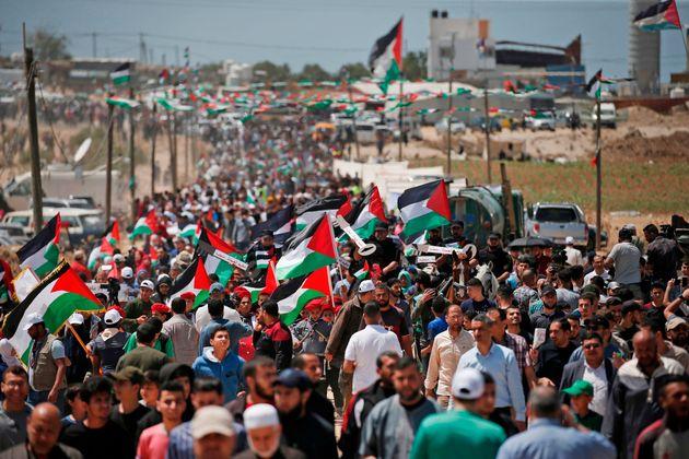 Arrestation d'un millier de Palestiniens en deux