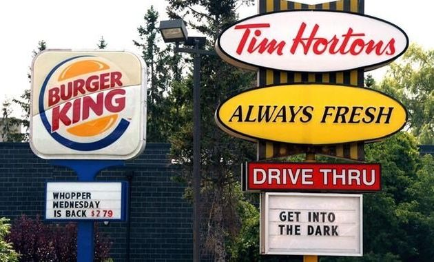 Tim Hortons Parent Company Aims To Be Among World's Largest