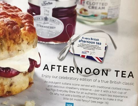 Η British Airways προσφέρει στους πελάτες το παραδοσιακό απογευματινό τσάι χωρίς