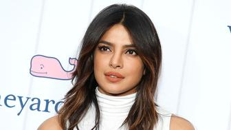 NEW YORK, NEW YORK - MAY 09: Priyanka Chopra attends Vineyard Vines for Target Launch at Brookfield Place on May 09, 2019 in New York City. (Photo by John Lamparski/Getty Images)