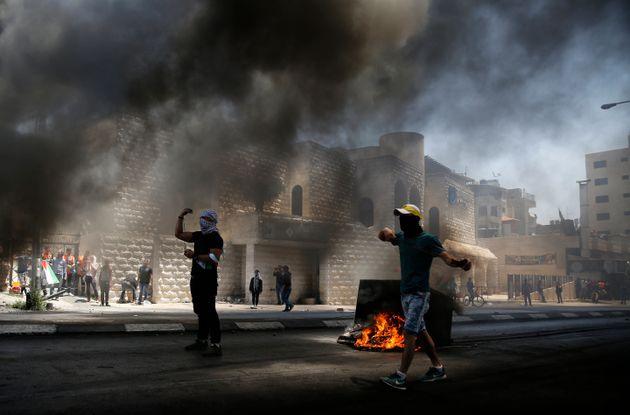 Μεγάλες ταραχές μεταξύ Παλαιστινίων και Ισραηλινών στρατιωτών στην Λωρίδα της
