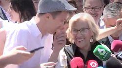 El lapsus de Carmena ante los medios en San Isidro que ha desatado las risas de los