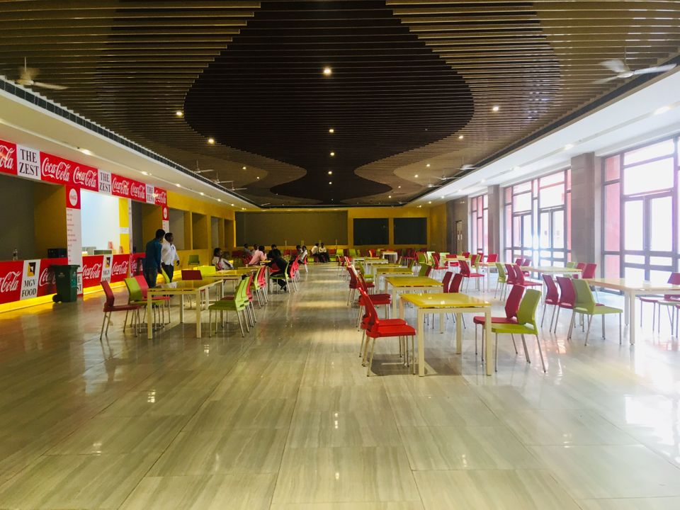 The food court at the Trade Facilitation Centre and Crafts Museum in Varanasi on 9