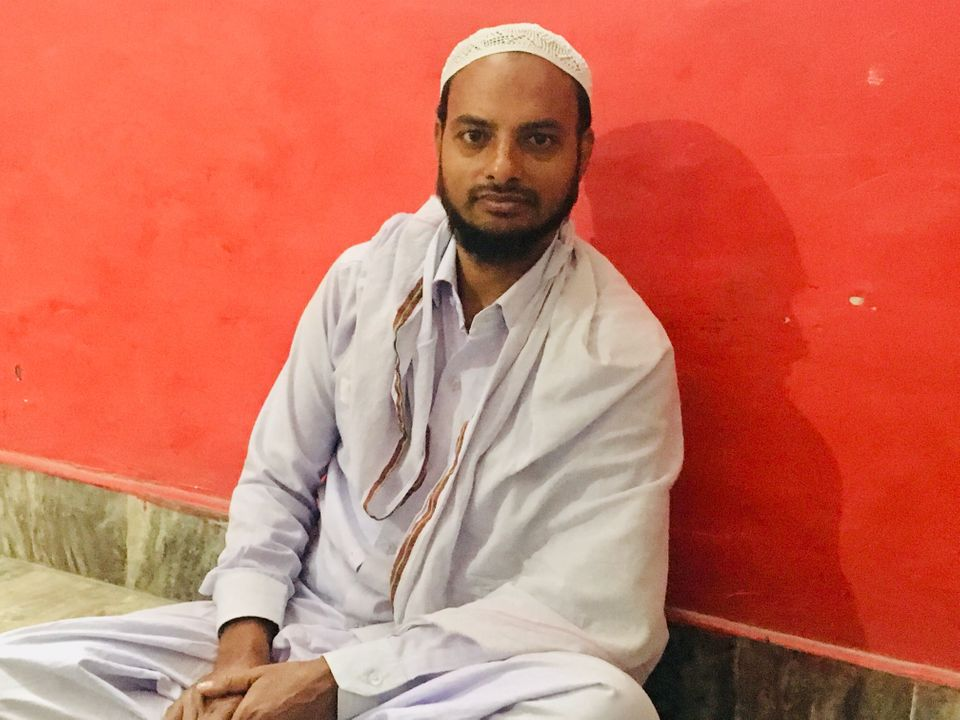 Iqbal Ahmed is a 26-year-old weaver in