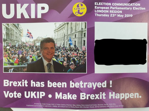 UKIP's individually addressed leaflet reaches every voter, not just one per