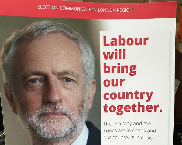 Labour's unaddressed European leaflet in