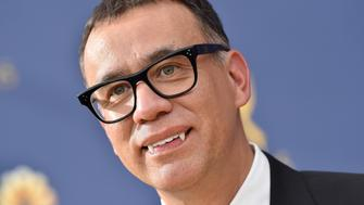 LOS ANGELES, CA - SEPTEMBER 17:  Fred Armisen attends the 70th Emmy Awards at Microsoft Theater on September 17, 2018 in Los Angeles, California.  (Photo by Axelle/Bauer-Griffin/FilmMagic)