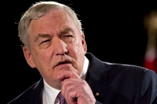 Conrad Black, a former British-Canadian newspaper publisher, was convicted of fraud in