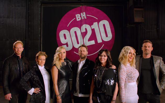 Le premier aperçu de la nouvelle série «BH90210» vous rendra