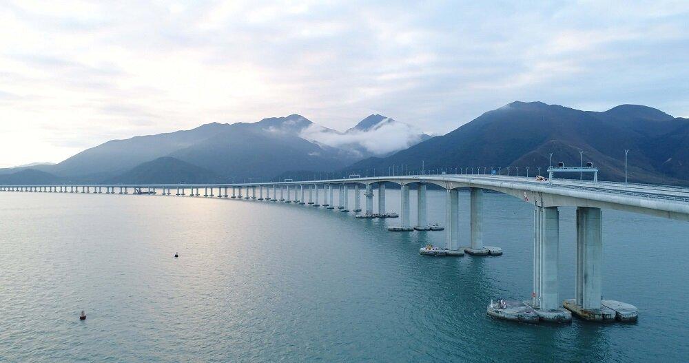 今夏孝親首選「世界最長跨海大橋」港珠澳大橋套裝(圖/香港旅遊發展局)