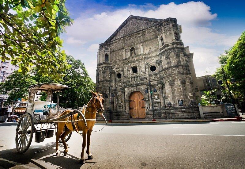 「熱帶花園城市」馬尼拉,是菲律賓第一大城。(圖/shutterstock.com)