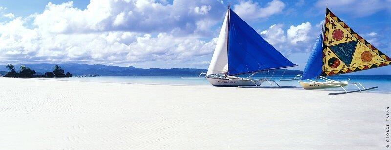 被譽為世界最美、最細白沙灘的長灘島重新開島(圖/菲律賓觀光部)