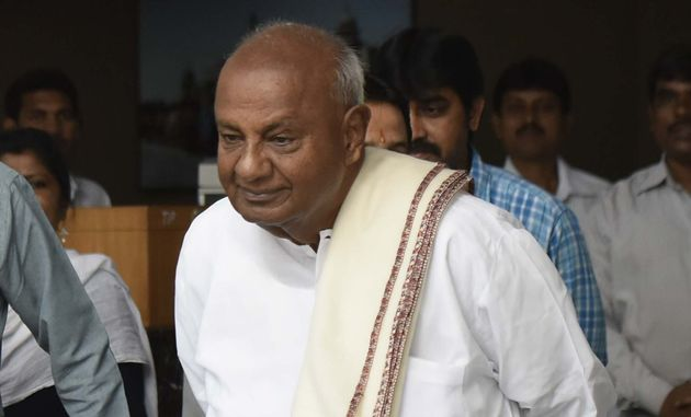 HD Deve Gowda Seems To Be On Safe Ground In Karnataka's