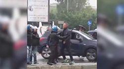 Il tifoso lo insulta, Mihajlovic reagisce. La polizia interviene per evitare la