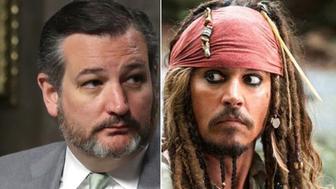 Ted Cruz, Jack Sparrow