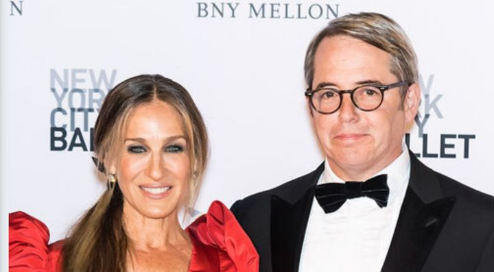 Sarah Jessica Parker and Matthew Broderick were married in 1997. They did not have a dramatic blowup in London, she said in r