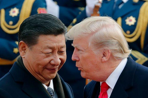 Xi Jinping et Donald Trump lors d'une rencontre en novembre