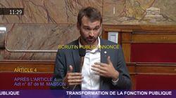 Ce député insoumis a fait rire l'Assemblée en imitant Sarkozy en plein