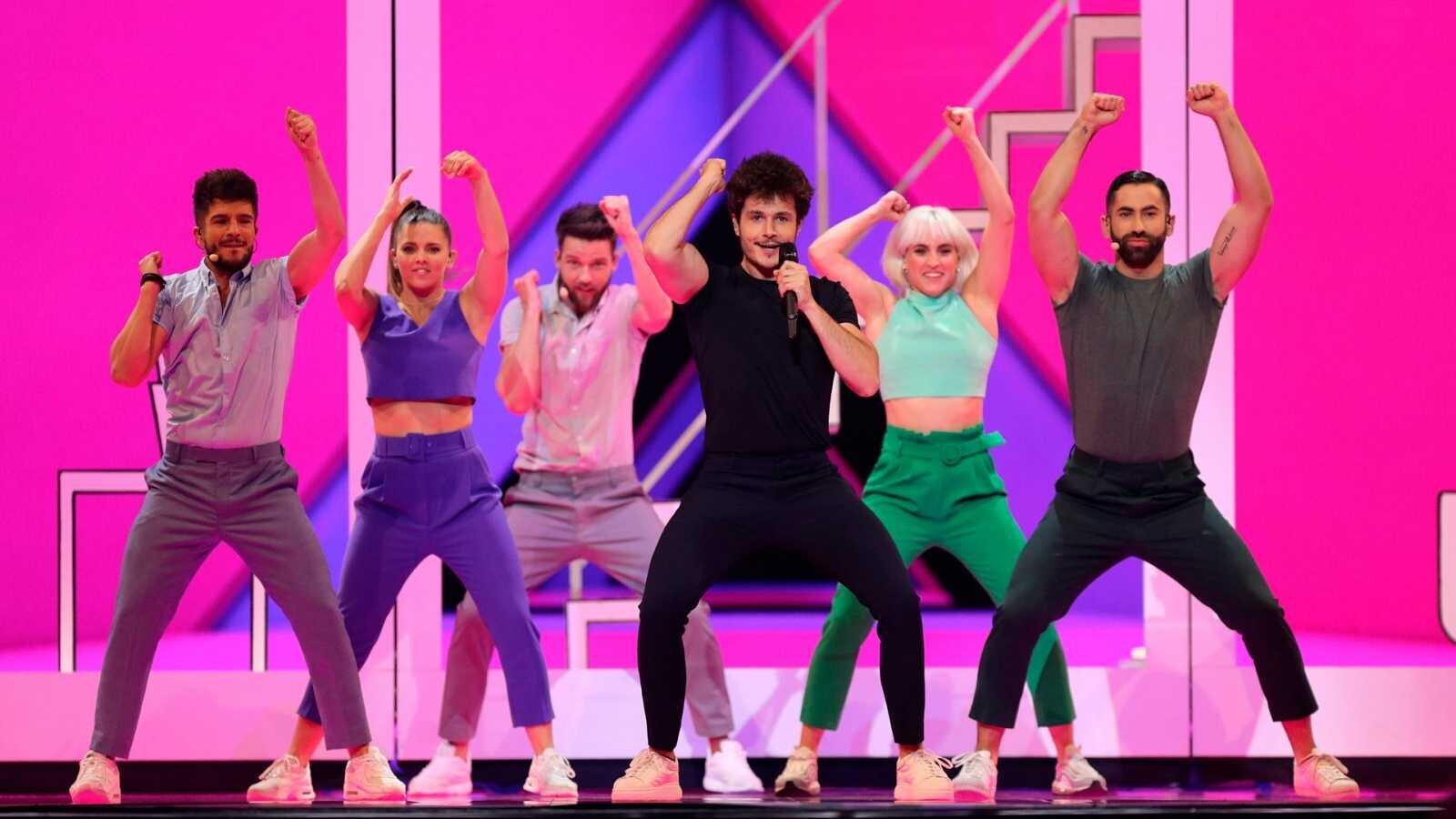 a que hora empieza eurovision