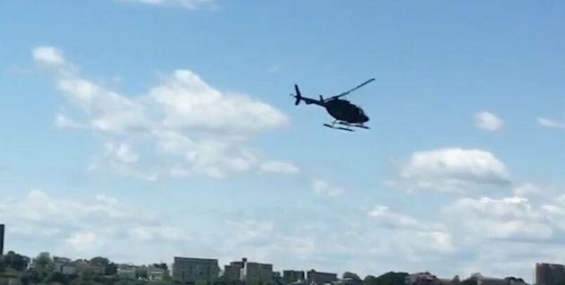 Μανχάταν: Ελικόπτερο χάνει τον έλεγχο και πέφτει στον