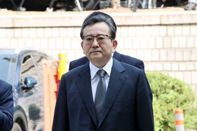 '뇌물수수 혐의' 김학의 전 법무부 차관이